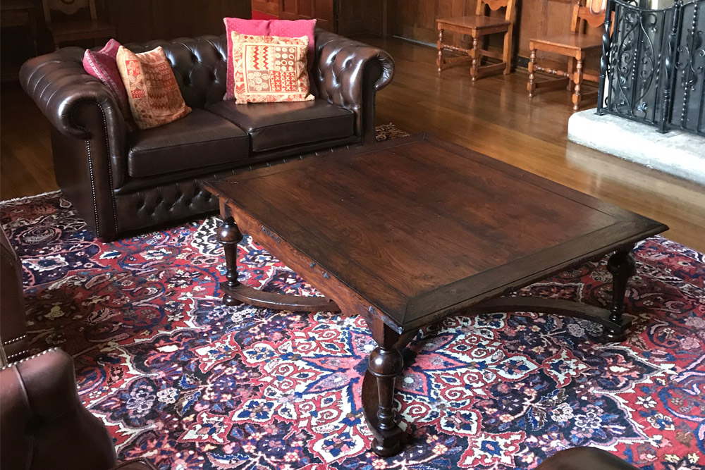 William and Mary Coffee Table