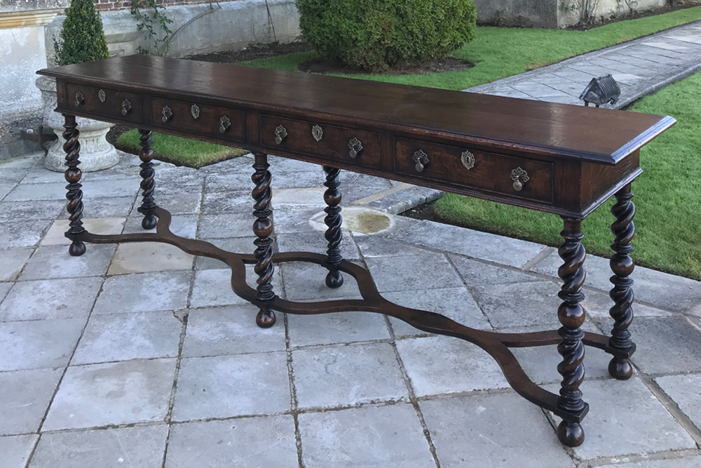 William and Mary Console Table