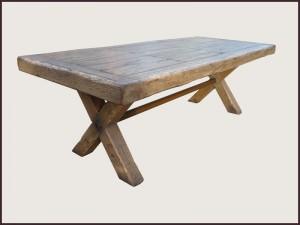 Elegant Gothic Coffee Table X Leg Coffee Table